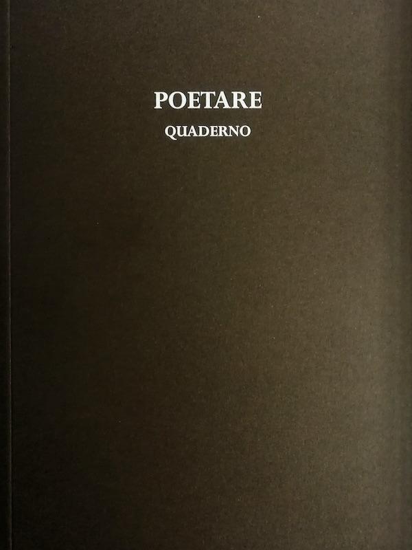 POETARE Quaderno
