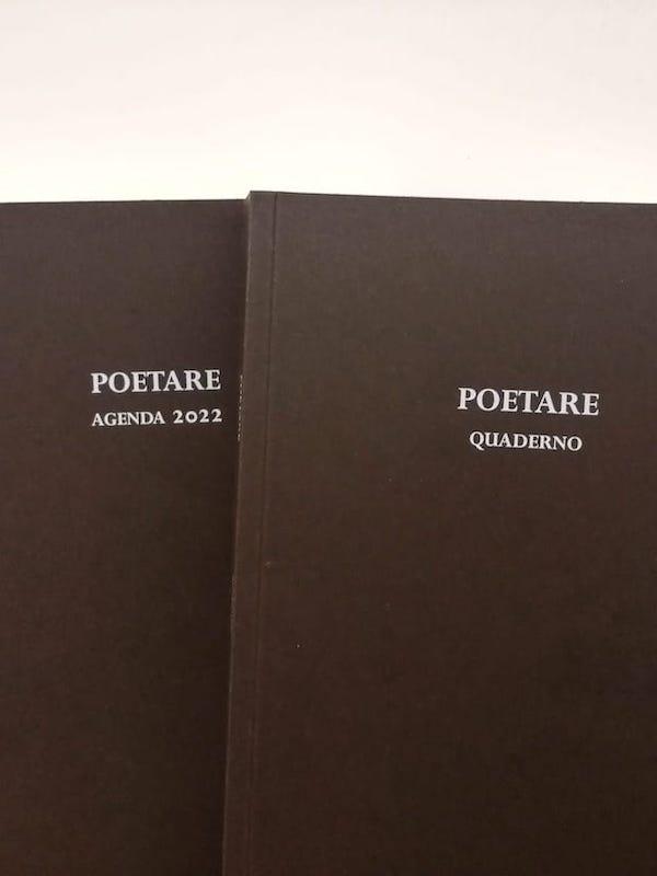 POETARE Quaderno+Agenda 2022